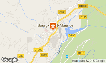 Carte Bourg saint Maurice Appartement 75709