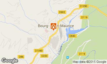 Carte Bourg saint Maurice Appartement 75709