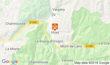 Carte Alpe d'Huez Maison 117000