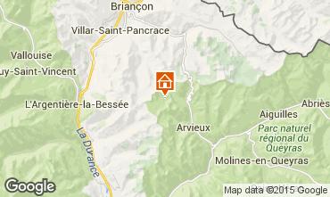Carte Arvieux en Queyras Chalet 79860