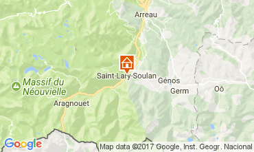 Carte Saint Lary Soulan Chalet 112169