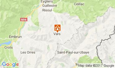 Carte Vars Chalet 111470