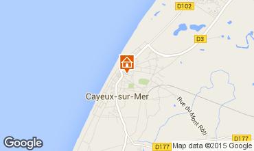 Carte Cayeux-sur-Mer Maison 92242