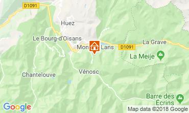 Carte Les 2 Alpes Appartement 117522