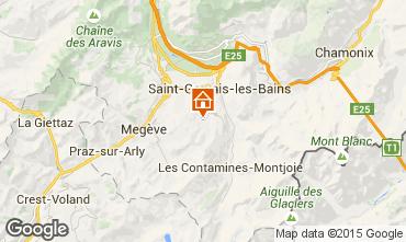 Carte Saint Gervais Mont-Blanc Appartement 74085