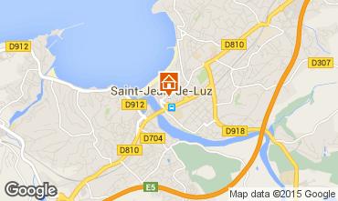 Carte Saint Jean de Luz Appartement 9328