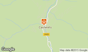 Carte Cauterets Appartement 28471