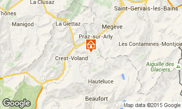 Carte Notre Dame de Bellecombe Chalet 90657