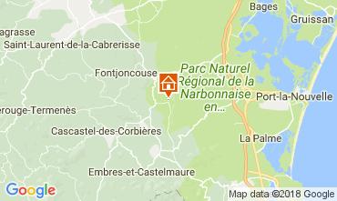 Carte Narbonne Villa 80444