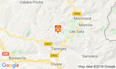 Carte Praz de Lys Sommand Appartement 118447