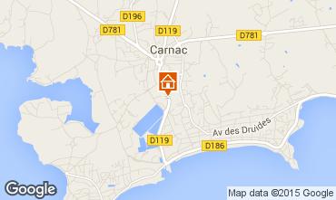 Carte Carnac Villa 59815