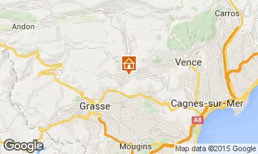Carte Cannes Villa 81732