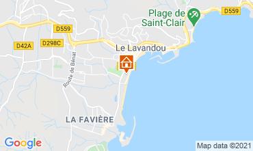 Carte Le Lavandou Appartement 86346