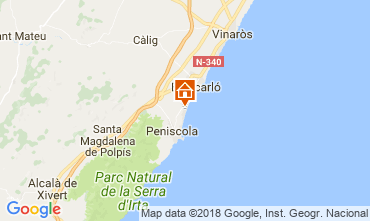 Carte Peñíscola Appartement 115204