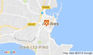 Carte Antibes Appartement 113217