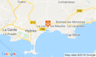 Carte La Londe les Maures Gite 118618