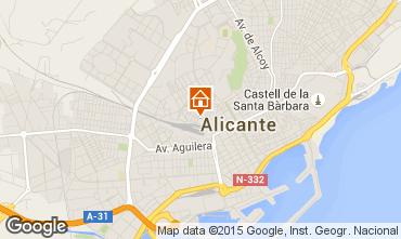 Carte Alicante Appartement 64577