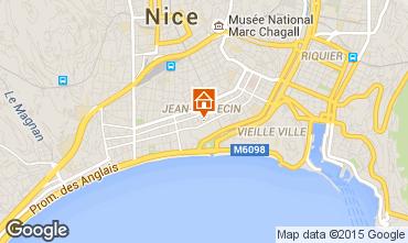 Carte Nice Appartement 67474