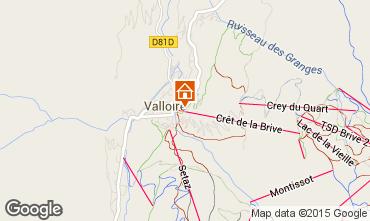 Carte Valloire Appartement 63869