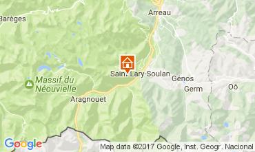 Carte Saint Lary Soulan Studio 39992
