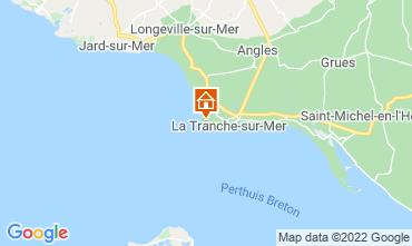 Carte La Tranche-sur-mer Villa 7127