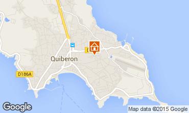 Carte Quiberon Appartement 31206