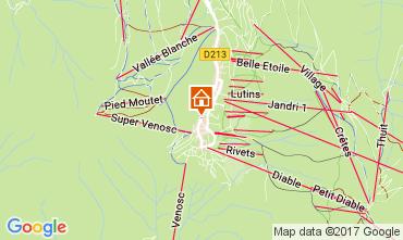 Carte Les 2 Alpes Appartement 26687